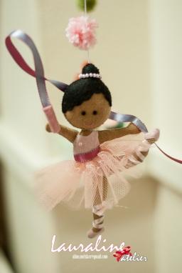 Mobile bailarinas malabaristas